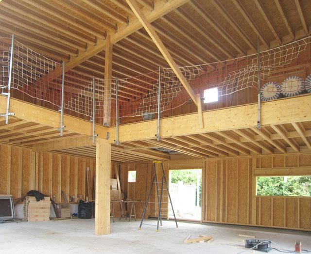 chantier de la maison douglas à Montligon 10 juin 2011